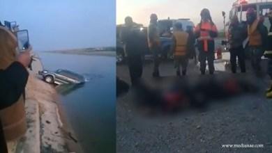 حادث مأساوي.. مصرع أطفال ونساء بغرق سيارة في قناة مياه بريف حلب