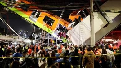 عشرون قتيلا وعشرات الجرحى بعد انهيار جسر في المكسيك لحظة مرور قطار مترو