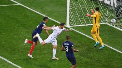 """سويسرا تنتصر بركلات الترجيح على """"فرنسا""""بطلة العالم في يورو 2020"""