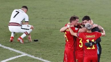 """البرتغال يودع """"يورو202"""" وبلجيكا تضرب موعداً مع إيطاليا"""