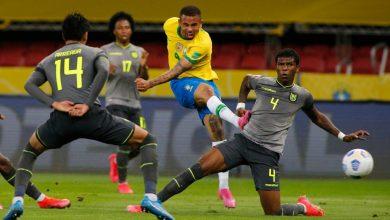 البرازيل تتصدر تصفيات أميركا الجنوبية لمونديال قطر بفوزها على الاكوادور