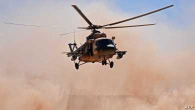 مقتل طاقم طائرة هليكوبتر عراقية بالكامل