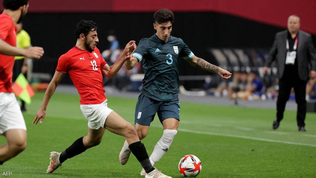 """الأرجنتين تفوز على """"مصر"""" في أولمبياد طوكيو"""
