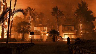 مصرع 4 أشخاص في اندلاع حريق بقبرص
