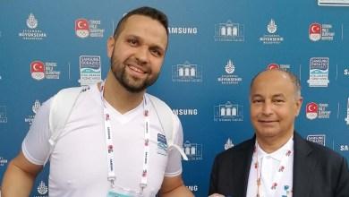 لاجئ سوري يحصد المركز الأول في بطولة السباحة العالمية بتركيا