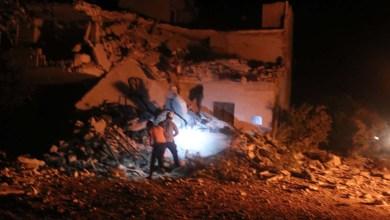 بالقذائف الليزرية 4 قتــ.ـلى بقصـ.ـف قوات النظام مدينة إدلب