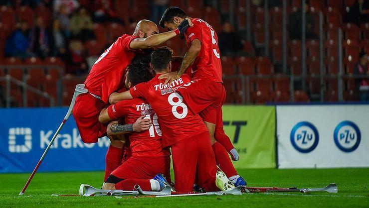 المنتخب التركي لمبتوري الأطراف يفوز في بطولة أوروبا