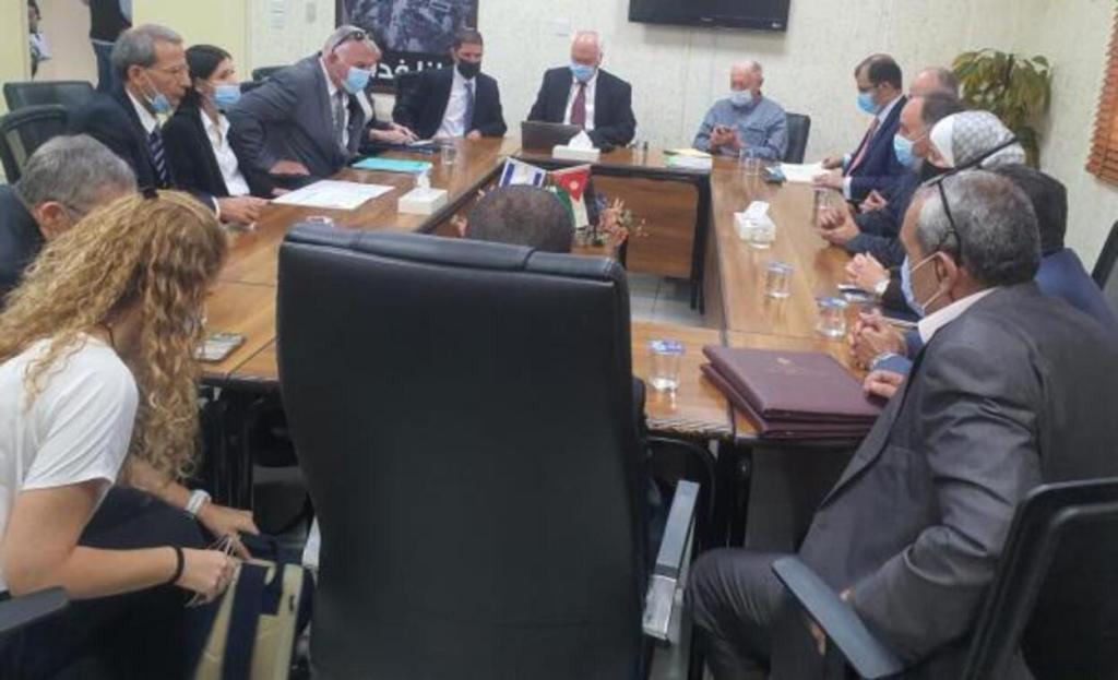 الأردن يعلن عن اتفاقاً لشراء المياه من إسرائيل
