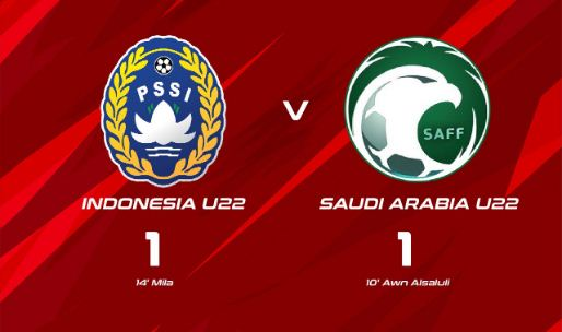 Indonesia vs Arab Saudi 1-1
