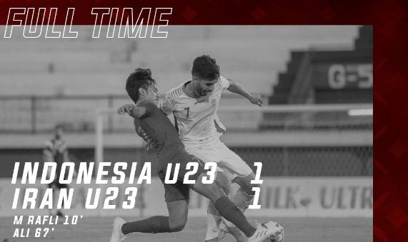 Indonesia vs Iran 1-1