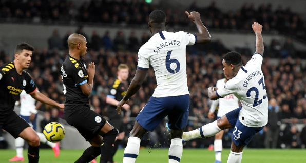 Tottenham Hotspur vs Manchester City 2-0 Highlights