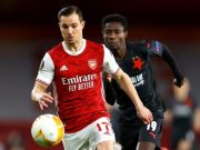 Arsenal vs Slavia Praha 1–1 Highlights