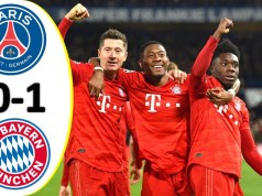 Paris Saint Germain vs Bayern München 0–1 Highlights