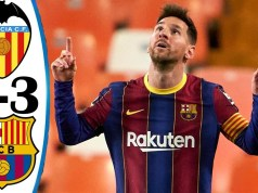 Valencia vs Barcelona 2–3 Highlights