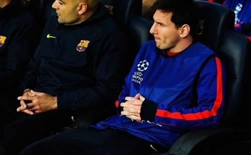 Messi Tidak Dimainkan Barcelona VS Bayern Munchen 2013