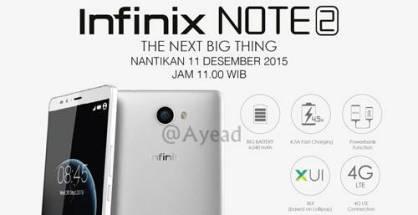 Infinix Note 2