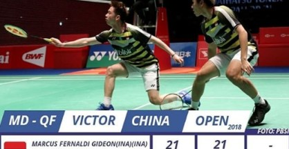 Hasil China Open September 2018 Indonesia
