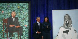 Here Are Barack and Michelle Obama's Official Smithsonian Portraits