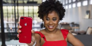 Apple and (RED) Teamed Up with Phoebe Robinson to Release the New Red iPhone