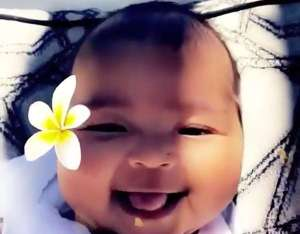 Khloe Kardashian Coos at a Grinning Baby True Thompson in Adorable Video