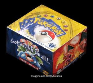 Someone Paid $56,000 for an Unopened Box of 1999 Pokémon Cards