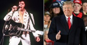 Trump Says He Looks Like Elvis And Twitter Users Get All Shook Up