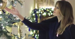 Melania Trump's 'Be Best' White House Ornaments Lead To Christmas Jeer