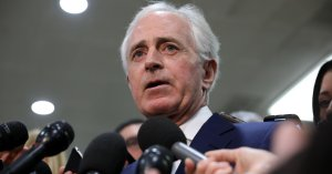 Bob Corker Blasts 'Made Up' Shutdown 'So The President Can Look Like He's Fighting'