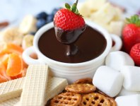 Recipe: Chocolate Caramel Fondue With Marsala Cooking Wine