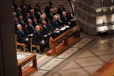 Live Briefing: George H.W. Bush Funeral Live: Ceremony Begins at Washington National Cathedral