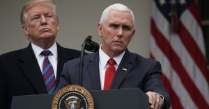 Mike Pence Struggles To Defend Trump's Lie That Past Presidents Support His Border Wall