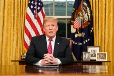 Trump Spreads Lies In Televised Speech For Border Wall Funding