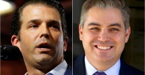 Donald Trump Jr. Shares Video Imagining CNN's Jim Acosta Getting Run Over