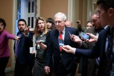 McConnell Faces Pressure From Republicans to Stop Avoiding Shutdown Fight