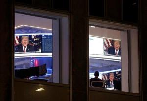 On Conservative Media, Qualified Support for Trump on Shutdown