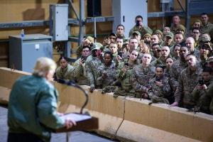 Trump Calls for Keeping Troops in Iraq to Watch Iran, Possibly Upending ISIS Fight