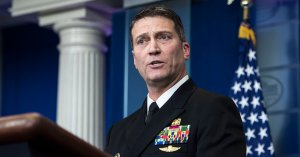 Ronny Jackson Named Trump's Assistant And Chief Medical Adviser