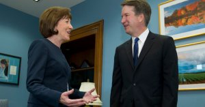 Democrats Come For Susan Collins After Brett Kavanaugh Backs Anti-Abortion Law