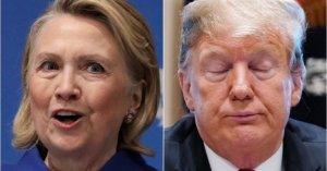 Hillary Clinton Dings Donald Trump Over Stolen 2016 Campaign Slogan