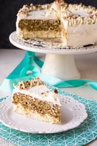 Low Carb Carrot Cake Cheesecake (Keto, Nut Free, Gluten Free)