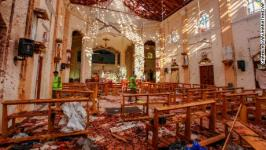 Coordinated explosions at hotels and churches in Sri Lanka kill more than 200 people