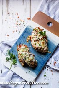 Easy Low Carb Chicken Parmesan (Keto, Gluten Free, Nut Free)