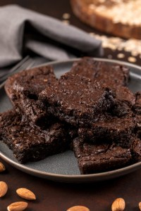 Almond Butter Brownies – Flourless & Vegan