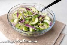 Keto Cucumber Dill Salad