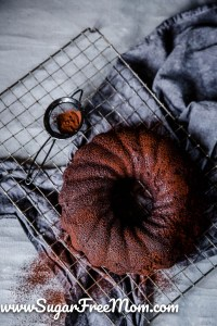 Sugar Free Keto Chocolate Bundt Cake