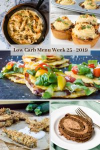 Low Carb Keto Meal Plan Week 25
