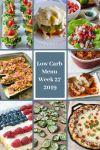 Low Carb Keto Meal Plan Week 27