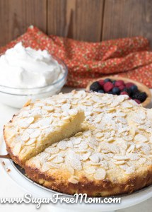 Low Carb Keto Almond Ricotta Cake