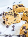 Keto Cookie Dough Fudge