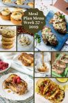 Low Carb Keto Meal Plan Menu Week 37